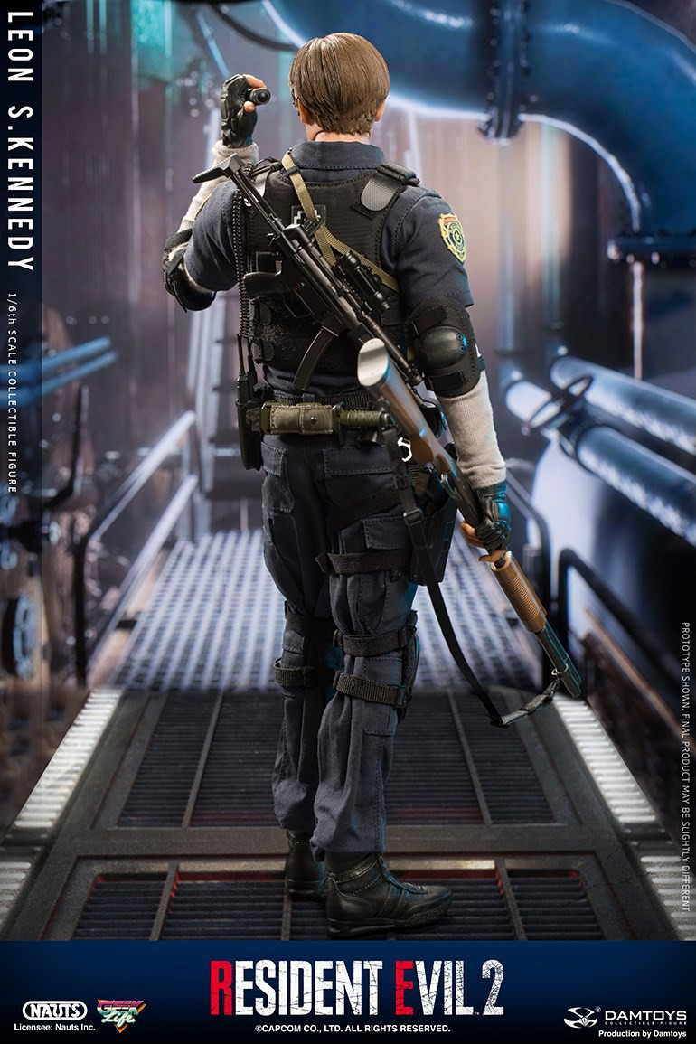 "Sci-Fi - NEW PRODUCT: NAUTS & DAMTOYS: 1/6 ""Resident Evil 2""-LEON S.KENNEDY/Lyon S. Kennedy remake #DMS030  F56f0f10"