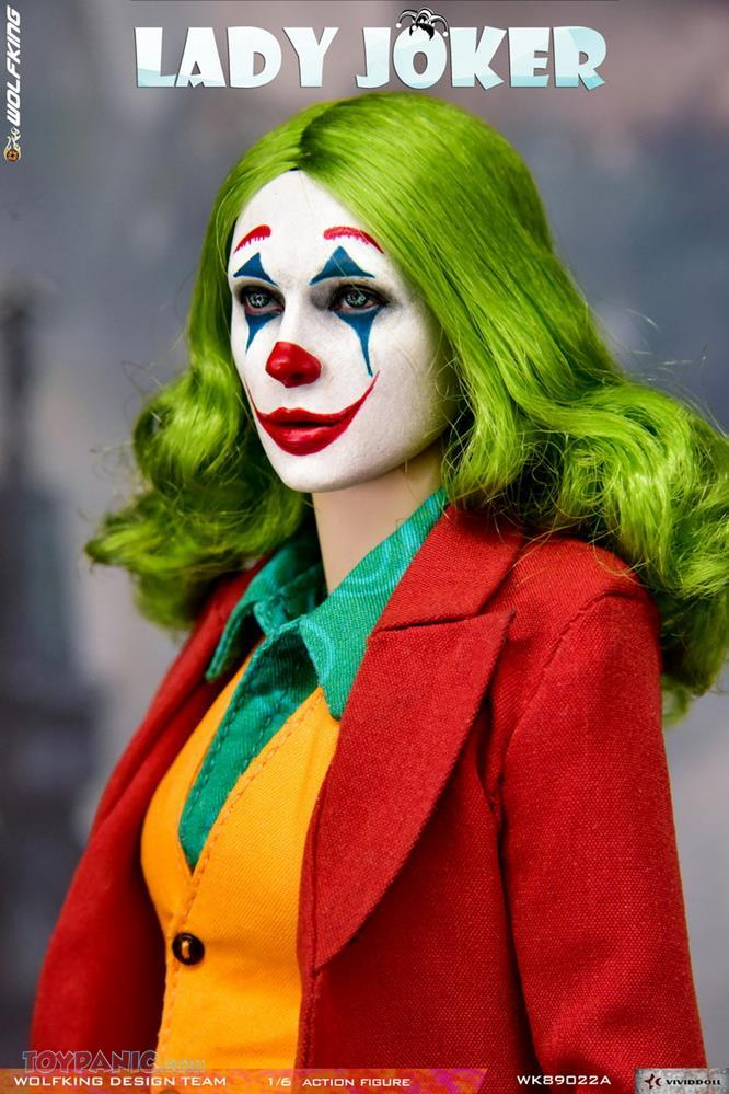 Wolfking - NEW PRODUCT: Wolfking: 1/6 scale Female Joker figure (Standard and Deluxe Editions) Fd911710