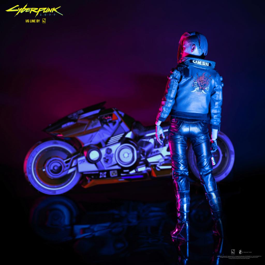 Sci-Fi - NEW PRODUCT: CYBERPUNK 2077: V FEMALE 1/6 ARTICULATED FIGURE (stand alone & with bike) Female10