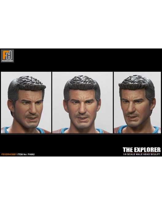 Explorer - NEW PRODUCT: FeverHobby FH002 - 1/6 Scale Explorer Head Sculpt; FH002B (Battle Damaged HS); & FH003 - 1/6 Scale Explorer Wear Set Fh002-11