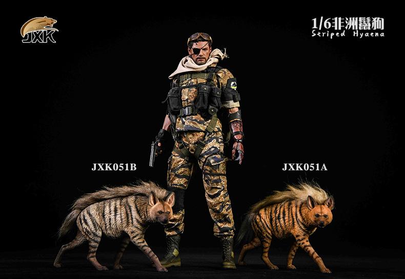 Dog - NEW PRODUCT: JXK: Caucasian Shepherd Dog JXK050 & African Hyena JXK051 Striped Hyena G10