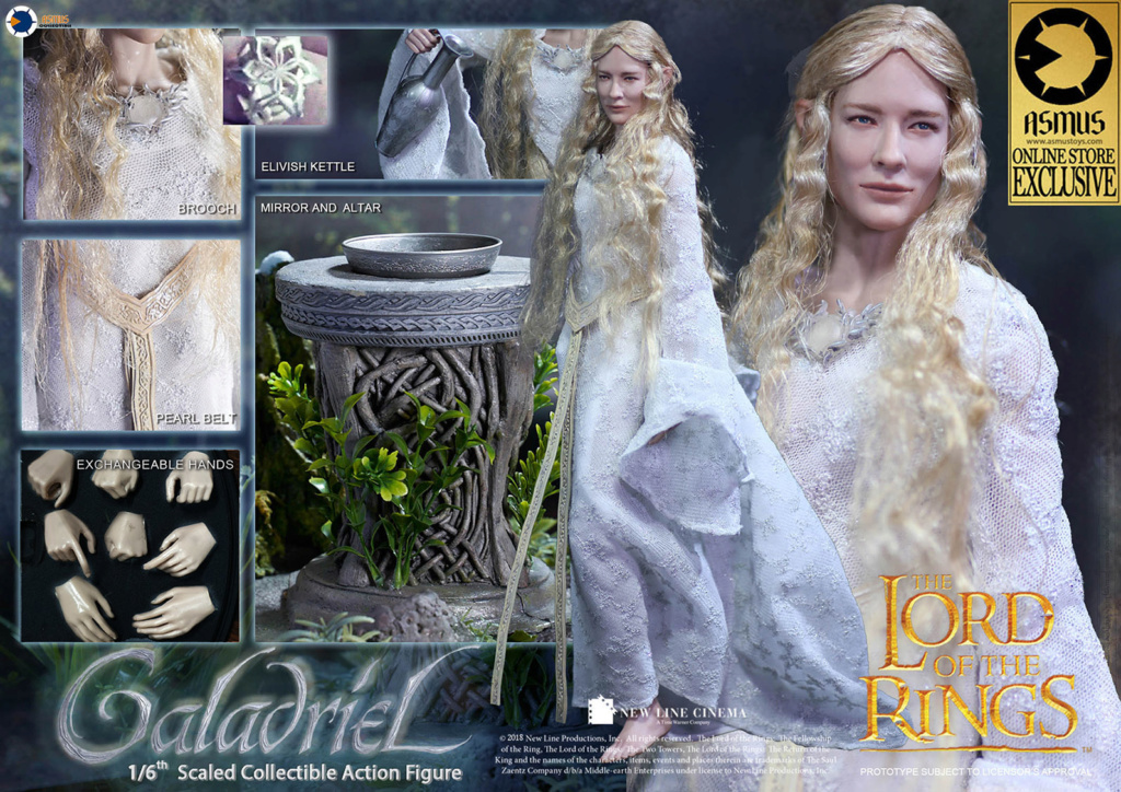 Galadriel - NEW PRODUCT: Asmus Collectibles: 1/6 scale The Lord of the Rings: Galadriel Glonli10