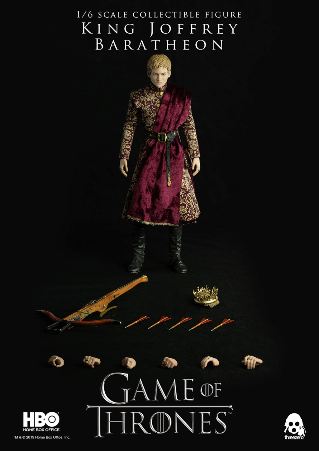 TVShow - NEW PRODUCT: ThreeZero: 1/6 scale Game of Thrones – King Joffrey Baratheon (Standard edition) & (Deluxe Edition) (UPDATED) Got_kj19