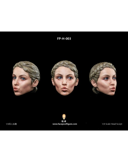 NEW PRODUCT: FacepoolFigure 1/6 Female Head Sculpt - FP-H-003 H003-510