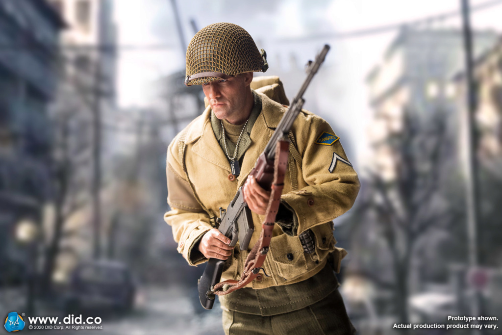 male - NEW PRODUCT: DiD: A80141 WWII US 2nd Ranger Battalion Private First Class Reiben 1/6 scale figure I09a8710