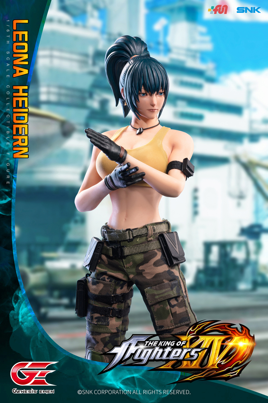 Stylized - NEW PRODUCT: GENESIS EMEN: THE KING OF FIGHTERS XIV - LEONA HEIDERN 1/6 SCALE ACTION FIGURE Image011