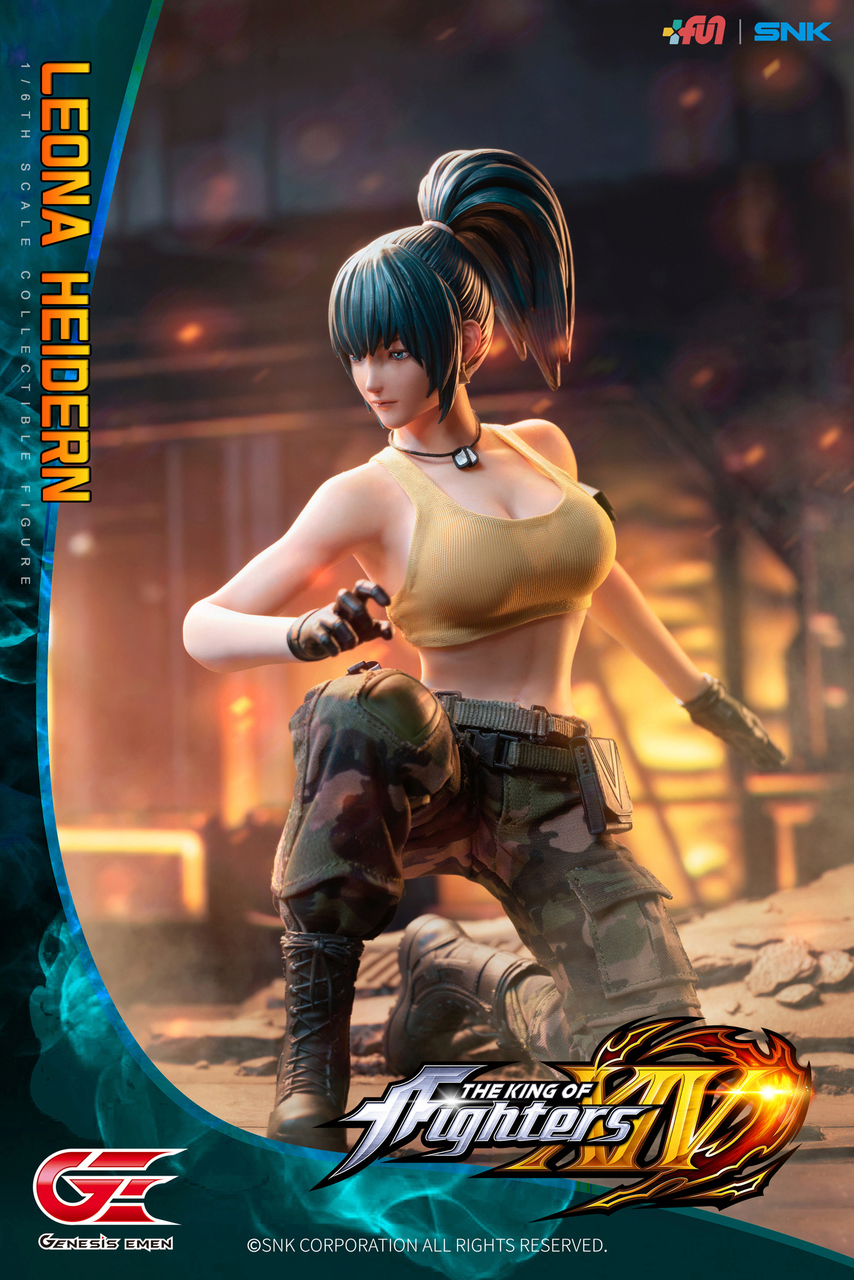Stylized - NEW PRODUCT: GENESIS EMEN: THE KING OF FIGHTERS XIV - LEONA HEIDERN 1/6 SCALE ACTION FIGURE Image012