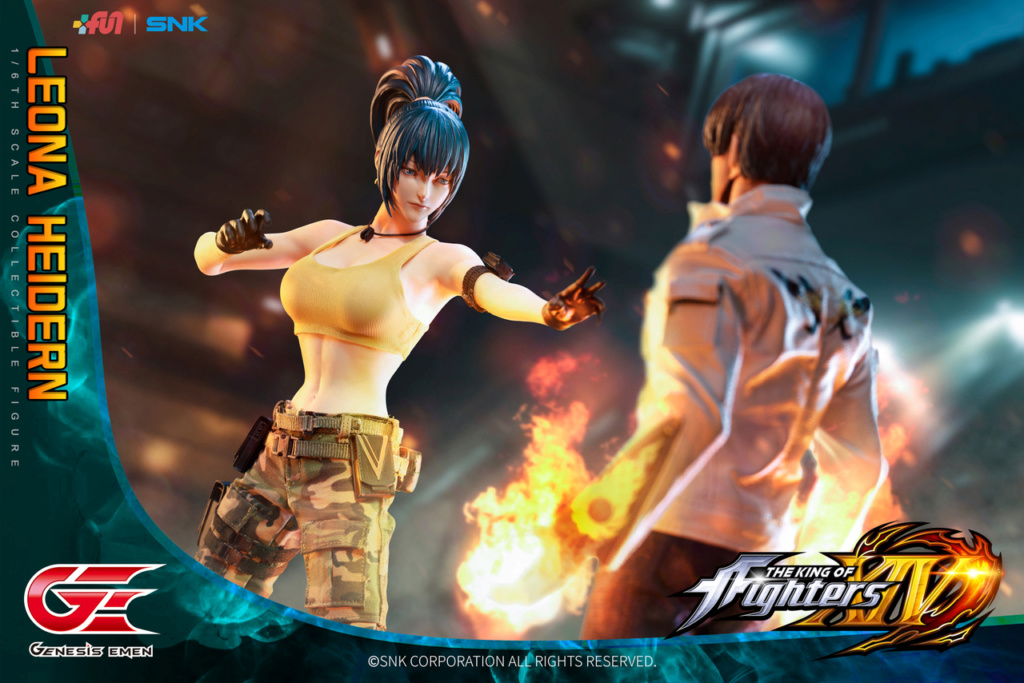 Stylized - NEW PRODUCT: GENESIS EMEN: THE KING OF FIGHTERS XIV - LEONA HEIDERN 1/6 SCALE ACTION FIGURE Image014