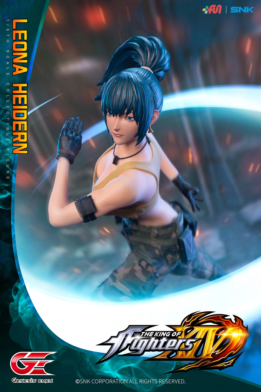 Stylized - NEW PRODUCT: GENESIS EMEN: THE KING OF FIGHTERS XIV - LEONA HEIDERN 1/6 SCALE ACTION FIGURE Image015