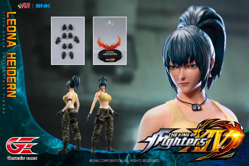Stylized - NEW PRODUCT: GENESIS EMEN: THE KING OF FIGHTERS XIV - LEONA HEIDERN 1/6 SCALE ACTION FIGURE Image016