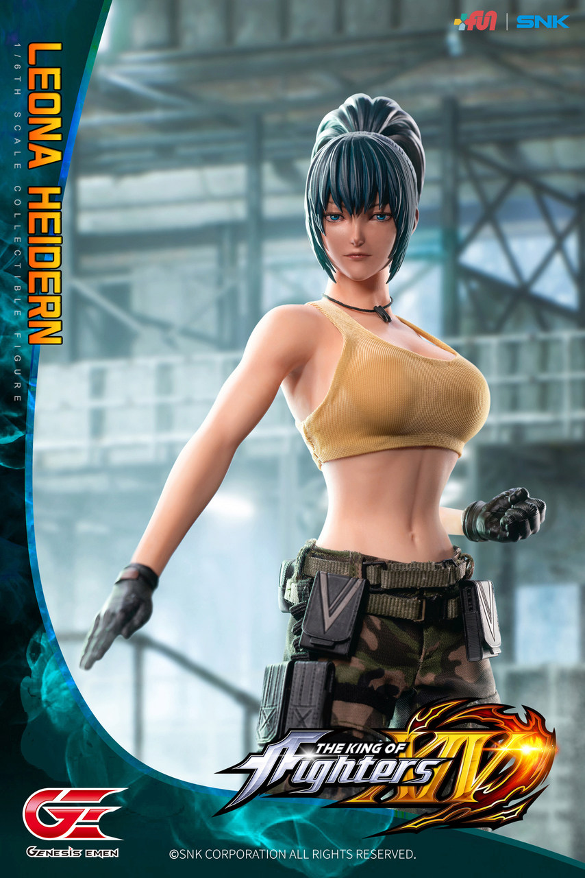 Stylized - NEW PRODUCT: GENESIS EMEN: THE KING OF FIGHTERS XIV - LEONA HEIDERN 1/6 SCALE ACTION FIGURE Image017