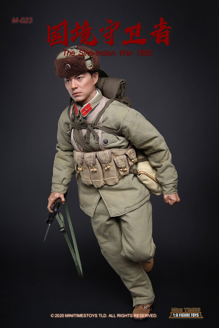 Military - NEW PRODUCT: MINI TIMES TOYS: SINO-INDIAN WAR 1962 PLA SOLDIER 1/6 SCALE ACTION FIGURE M023 Image021