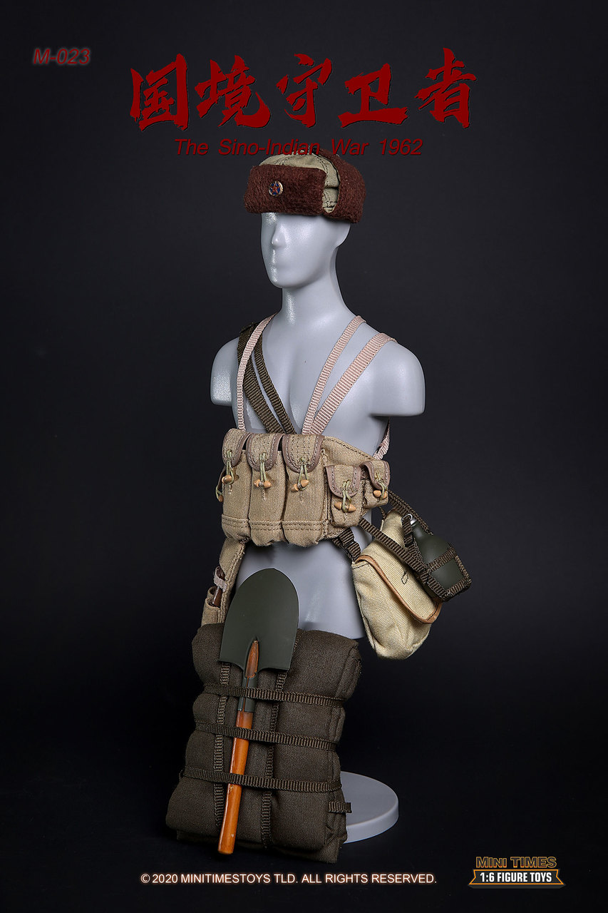 military - NEW PRODUCT: MINI TIMES TOYS: SINO-INDIAN WAR 1962 PLA SOLDIER 1/6 SCALE ACTION FIGURE M023 Image028