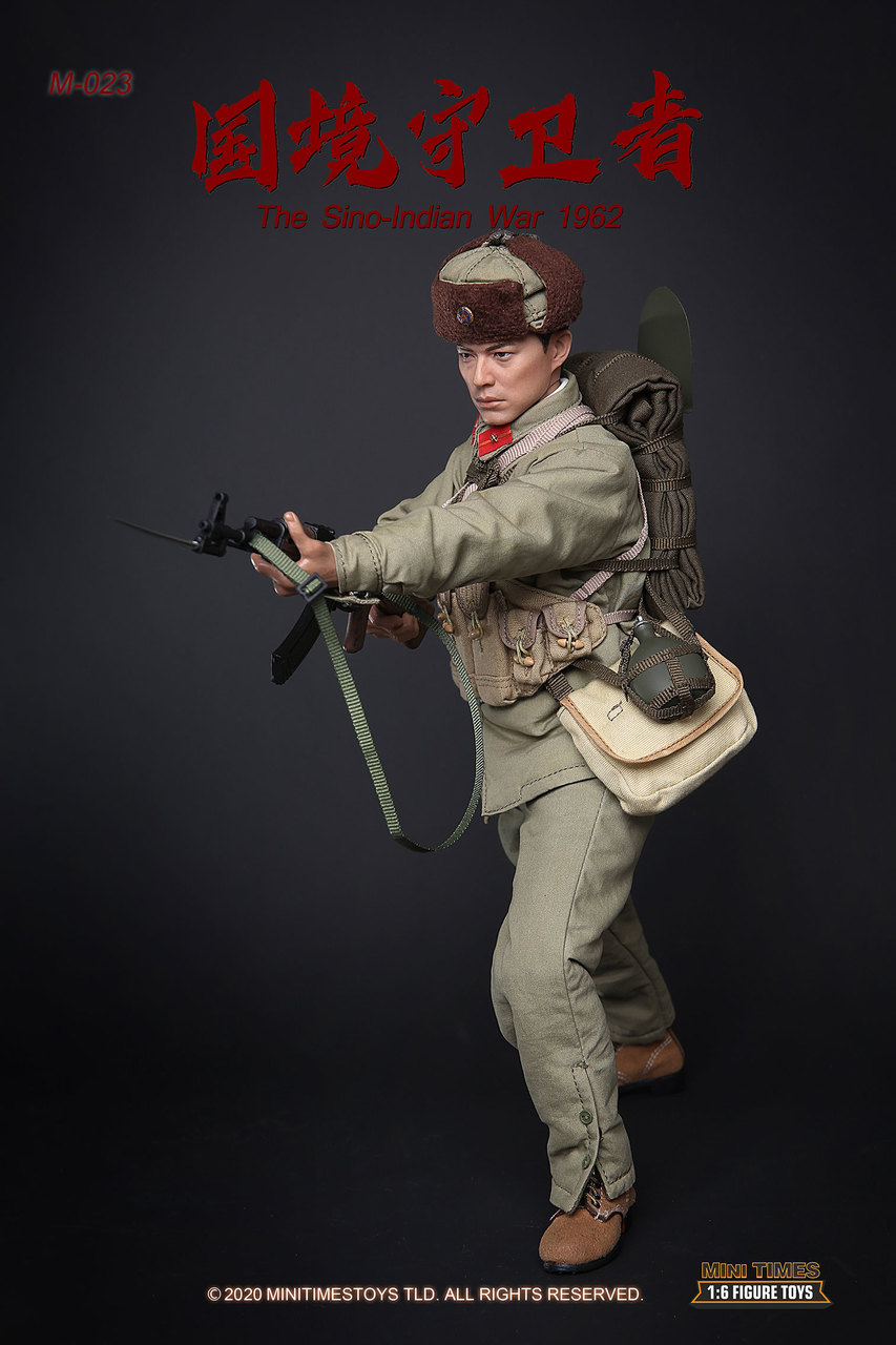 Military - NEW PRODUCT: MINI TIMES TOYS: SINO-INDIAN WAR 1962 PLA SOLDIER 1/6 SCALE ACTION FIGURE M023 Image030