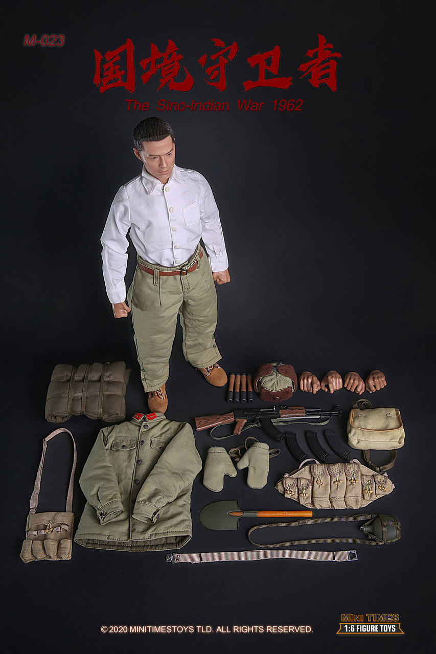 Military - NEW PRODUCT: MINI TIMES TOYS: SINO-INDIAN WAR 1962 PLA SOLDIER 1/6 SCALE ACTION FIGURE M023 Image034