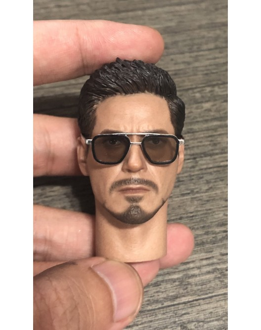 sunglasses - NEW PRODUCT: Custom 1/6 Scale Brown Lens Diecast / metal made sunglasses Img_3713