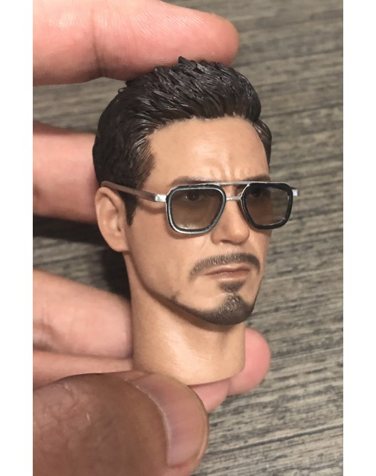 sunglasses - NEW PRODUCT: Custom 1/6 Scale Brown Lens Diecast / metal made sunglasses Img_3714