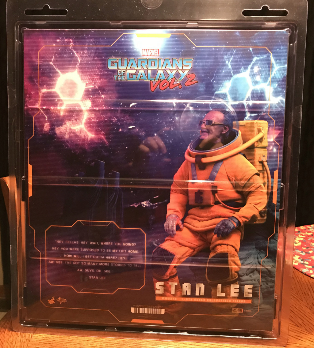 NEW PRODUCT: HOT TOYS: GUARDIANS OF THE GALAXY VOL. 2 STAN LEE® 1/6TH SCALE COLLECTIBLE FIGURE Img_8135