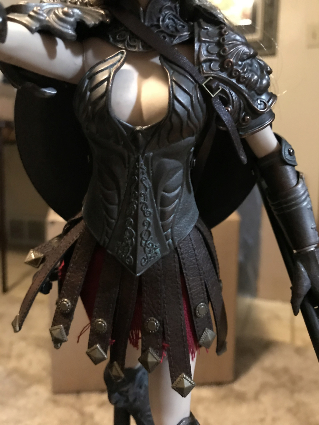 "NEW PRODUCT: COO MODEL X HOMER 1/6th scale PANTHEON - Hades Goddess of the Underworld 12"" Figure Img_8160"
