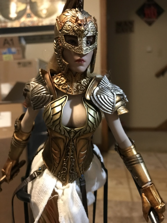 "CooModel - NEW PRODUCT: COO MODEL X HOMER 1/6th scale PANTHEON Athena Goddess of War 12"" Collectible Figure Img_8168"