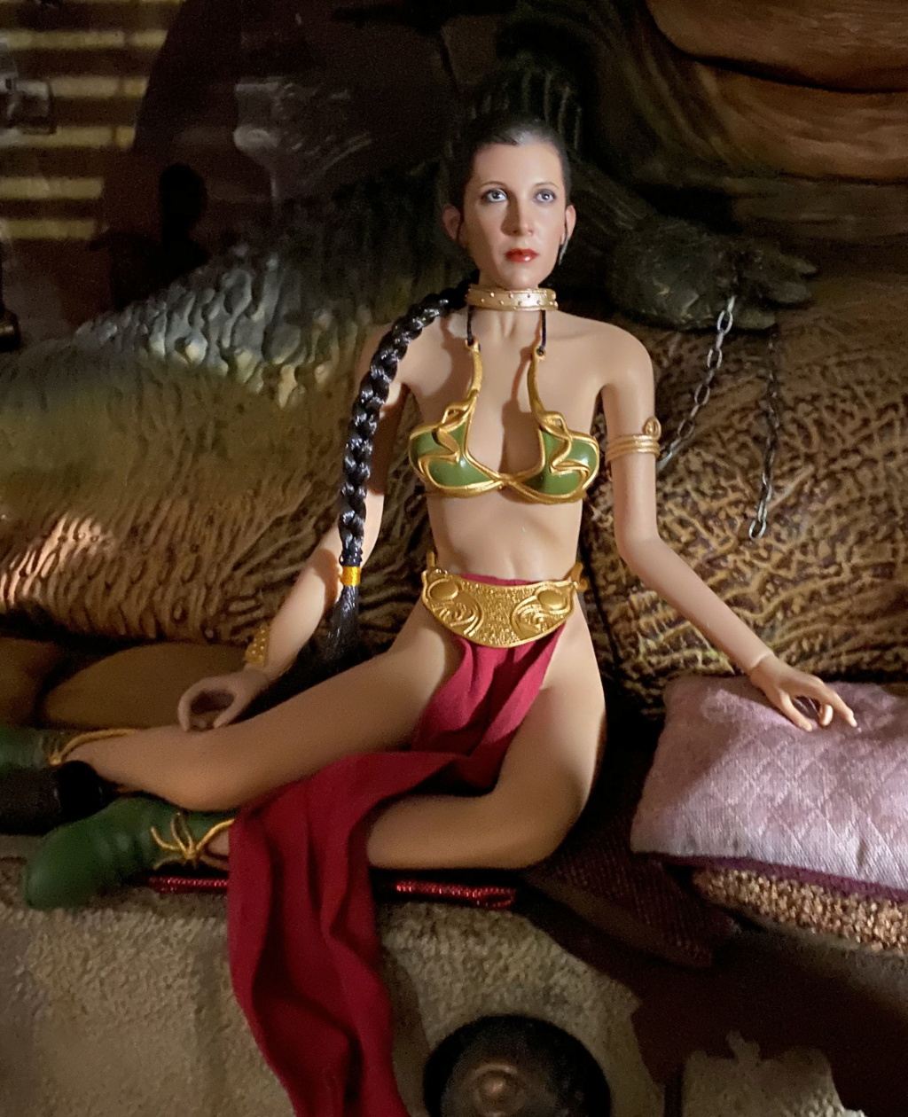 StarWars - NEW PRODUCT: HOT TOYS: STAR WARS: RETURN OF THE JEDI PRINCESS LEIA 1/6TH SCALE COLLECTIBLE FIGURE Img_8422