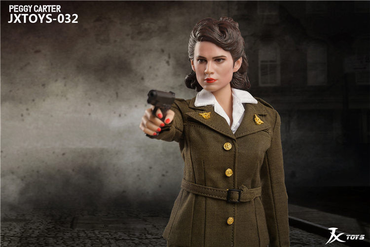 NEW PRODUCT: JX Toys: 1/6 Scale Army Officer Peggy Figure Jxt-0311