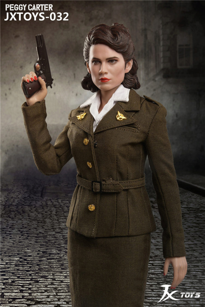 NEW PRODUCT: JX Toys: 1/6 Scale Army Officer Peggy Figure Jxt-0312