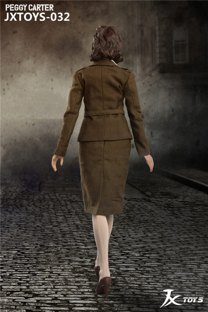 NEW PRODUCT: JX Toys: 1/6 Scale Army Officer Peggy Figure Jxt-0313
