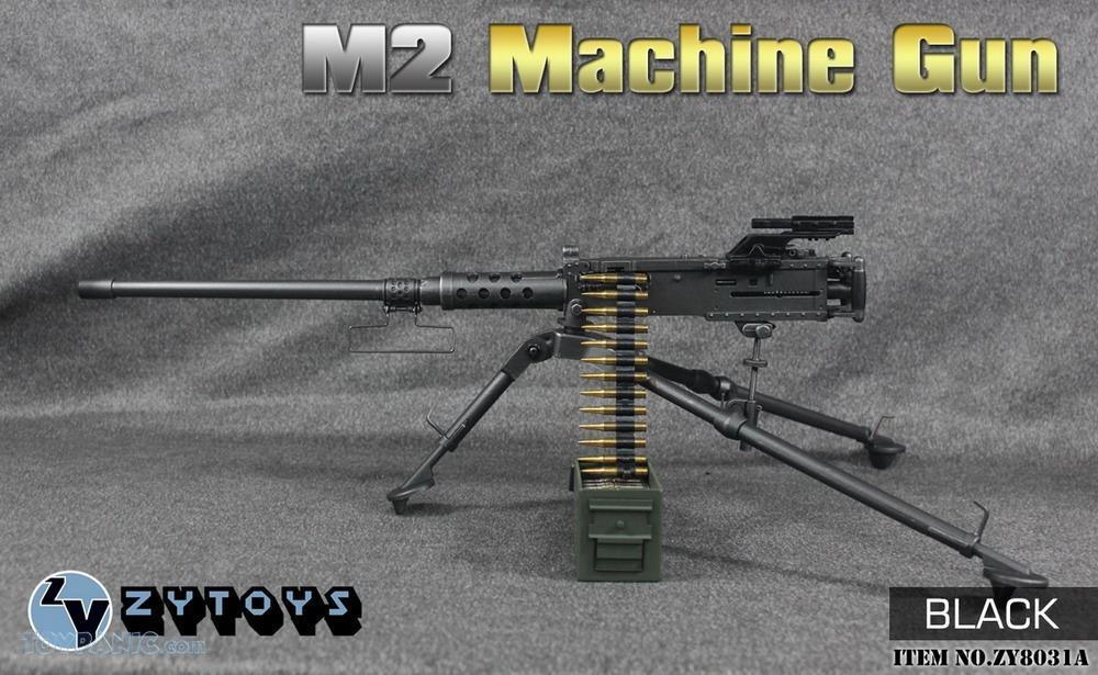 machinegun - NEW PRODUCT: ZY TOYS: M2 Machine Gun (2 styles) & MK43 (4 Styles) M2_mac10
