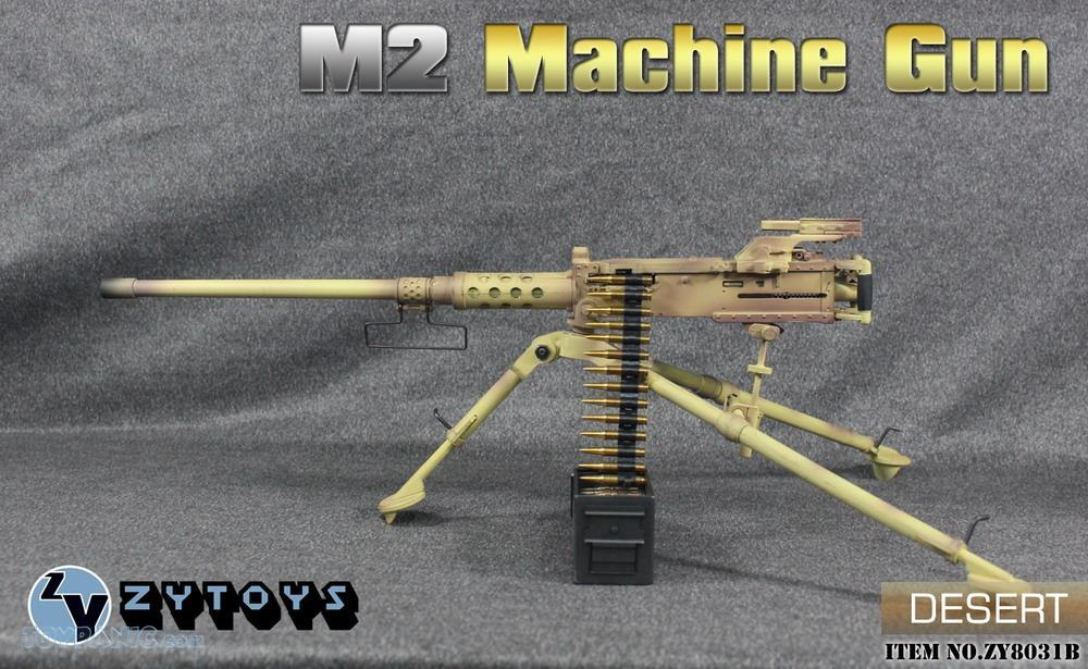 machinegun - NEW PRODUCT: ZY TOYS: M2 Machine Gun (2 styles) & MK43 (4 Styles) M2_mac11