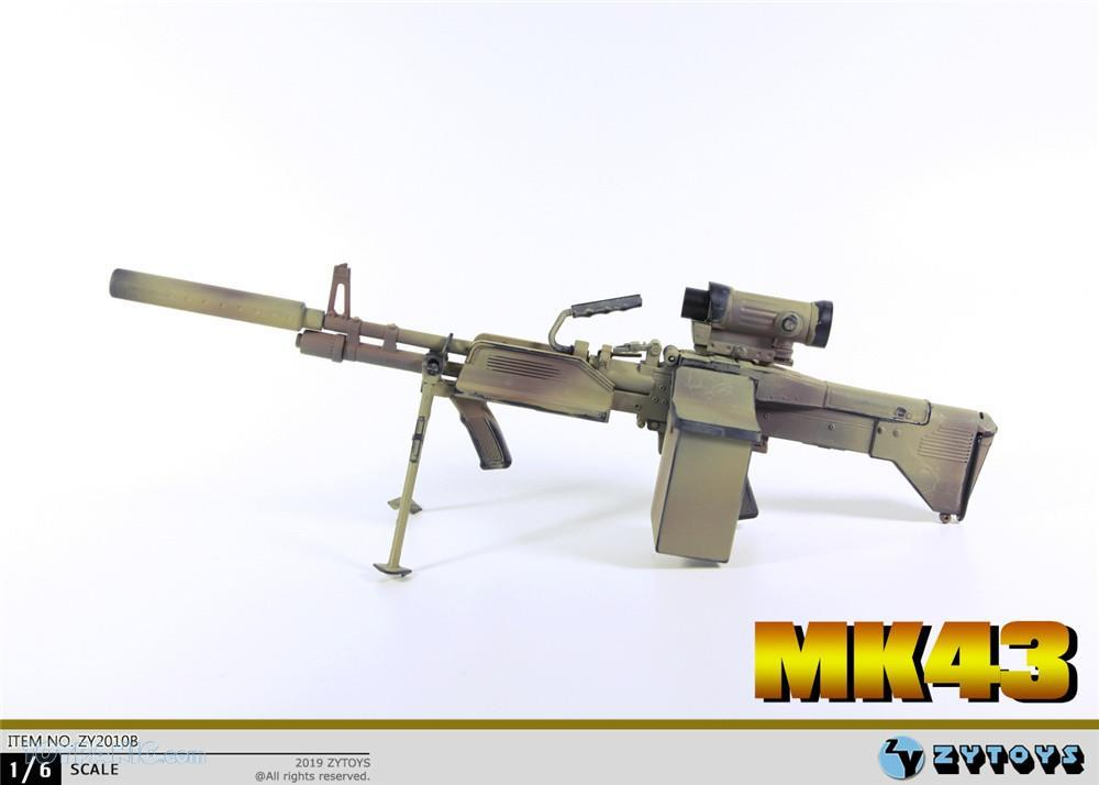 machinegun - NEW PRODUCT: ZY TOYS: M2 Machine Gun (2 styles) & MK43 (4 Styles) Mk43_111
