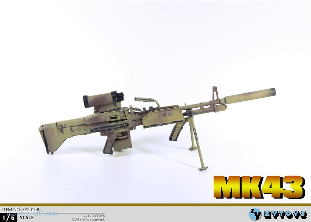 machinegun - NEW PRODUCT: ZY TOYS: M2 Machine Gun (2 styles) & MK43 (4 Styles) Mk43_112