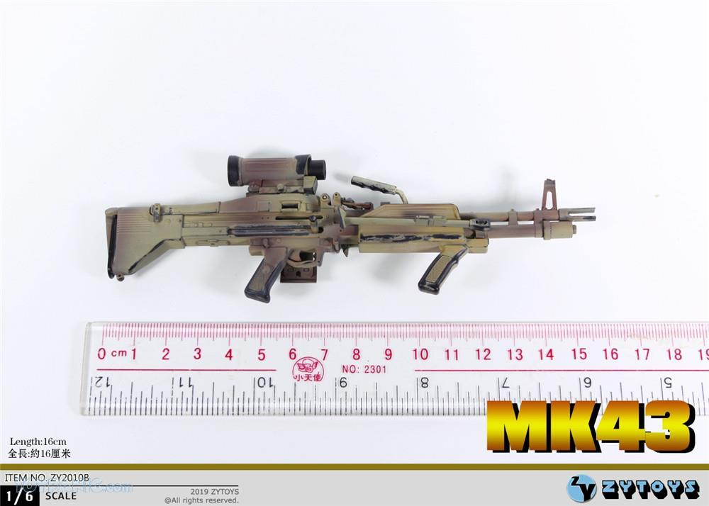 machinegun - NEW PRODUCT: ZY TOYS: M2 Machine Gun (2 styles) & MK43 (4 Styles) Mk43_113