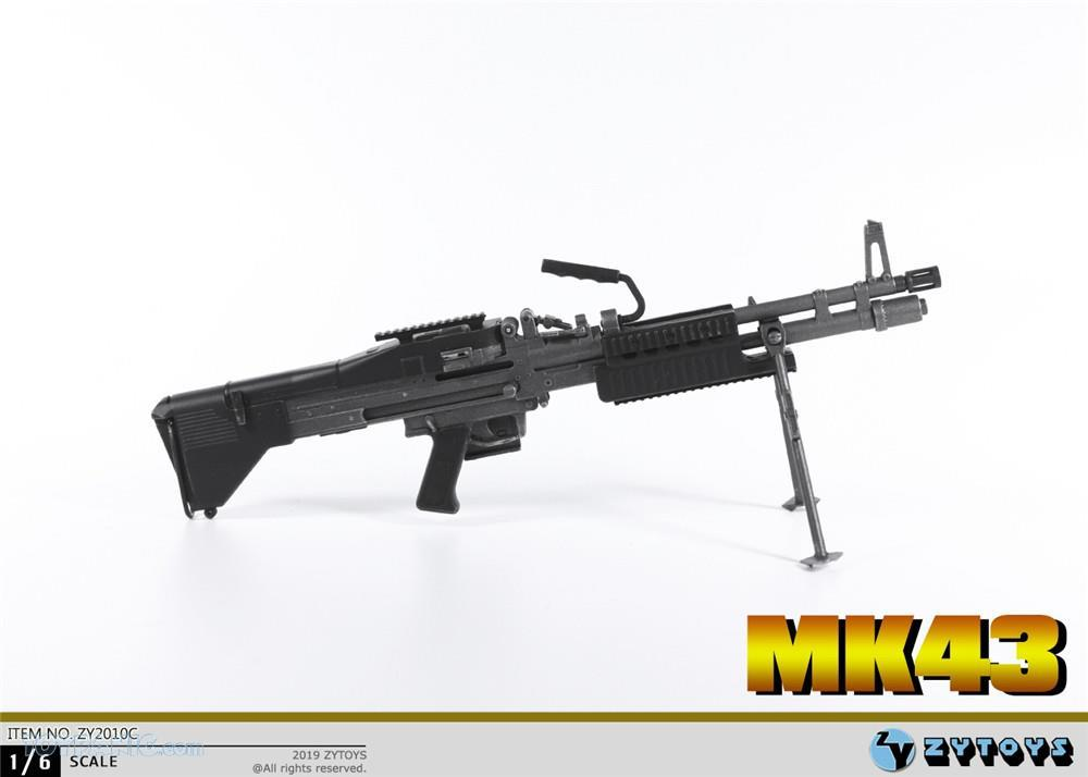 machinegun - NEW PRODUCT: ZY TOYS: M2 Machine Gun (2 styles) & MK43 (4 Styles) Mk43_116
