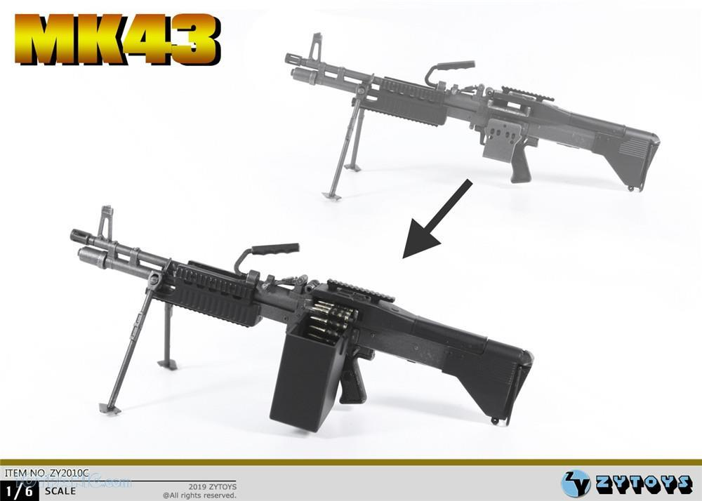 machinegun - NEW PRODUCT: ZY TOYS: M2 Machine Gun (2 styles) & MK43 (4 Styles) Mk43_117