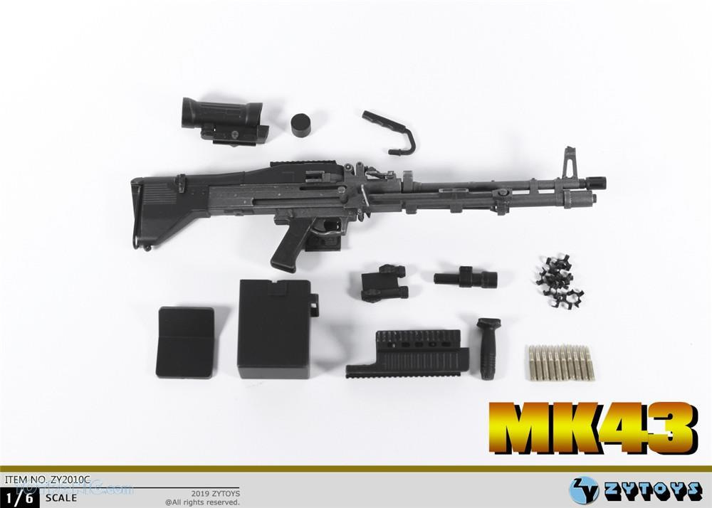 machinegun - NEW PRODUCT: ZY TOYS: M2 Machine Gun (2 styles) & MK43 (4 Styles) Mk43_119