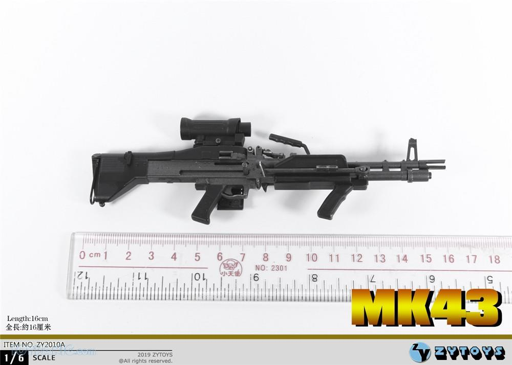 machinegun - NEW PRODUCT: ZY TOYS: M2 Machine Gun (2 styles) & MK43 (4 Styles) Mk43_410