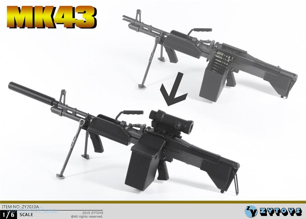 machinegun - NEW PRODUCT: ZY TOYS: M2 Machine Gun (2 styles) & MK43 (4 Styles) Mk43_510