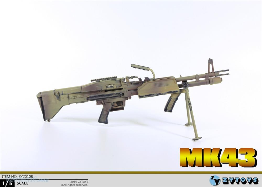 machinegun - NEW PRODUCT: ZY TOYS: M2 Machine Gun (2 styles) & MK43 (4 Styles) Mk43_910