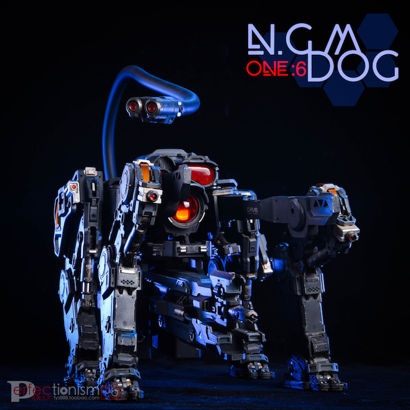 NEW PRODUCT: C-PLAN N.G.M. MILITARY MECHANICAL HOUND 1/6 SCALE POSABLE MODEL FIGURE O1cn0110