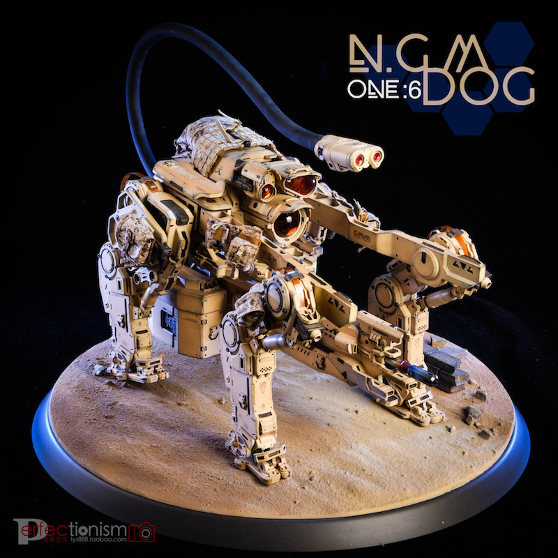NEW PRODUCT: C-PLAN N.G.M. MILITARY MECHANICAL HOUND 1/6 SCALE POSABLE MODEL FIGURE O1cn0113
