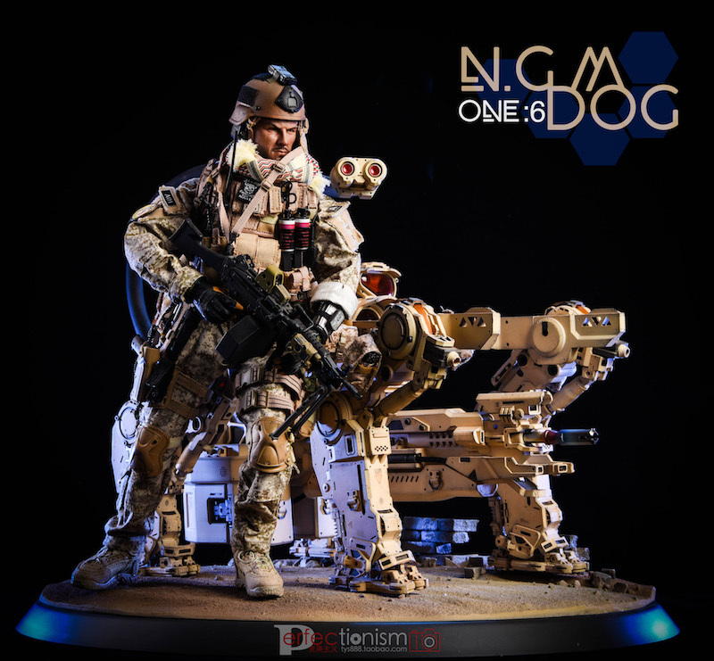 NEW PRODUCT: C-PLAN N.G.M. MILITARY MECHANICAL HOUND 1/6 SCALE POSABLE MODEL FIGURE O1cn0115