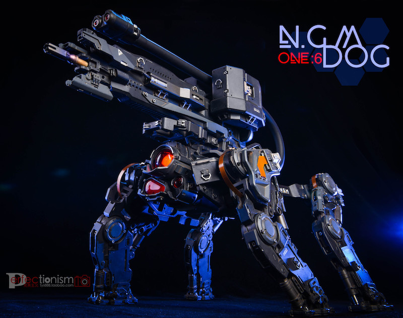 NEW PRODUCT: C-PLAN N.G.M. MILITARY MECHANICAL HOUND 1/6 SCALE POSABLE MODEL FIGURE O1cn0116