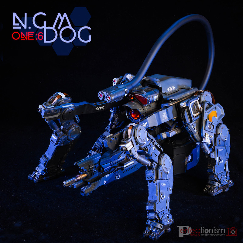NEW PRODUCT: C-PLAN N.G.M. MILITARY MECHANICAL HOUND 1/6 SCALE POSABLE MODEL FIGURE O1cn0117
