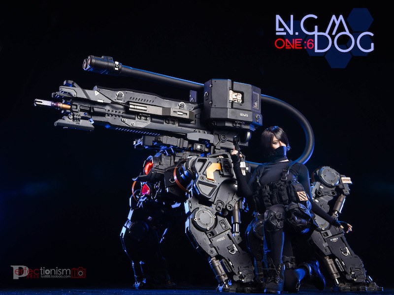 NEW PRODUCT: C-PLAN N.G.M. MILITARY MECHANICAL HOUND 1/6 SCALE POSABLE MODEL FIGURE O1cn0118