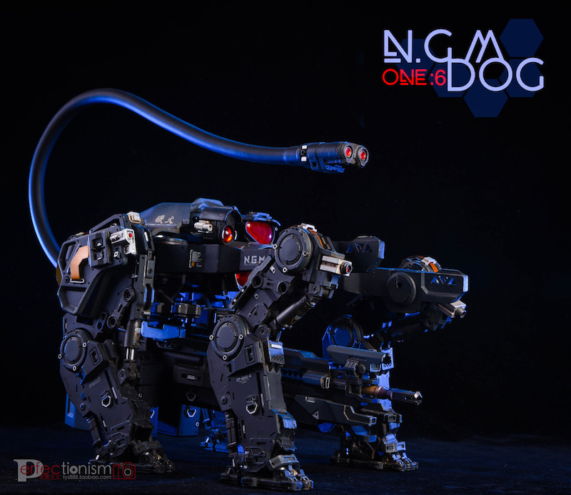NEW PRODUCT: C-PLAN N.G.M. MILITARY MECHANICAL HOUND 1/6 SCALE POSABLE MODEL FIGURE O1cn0119