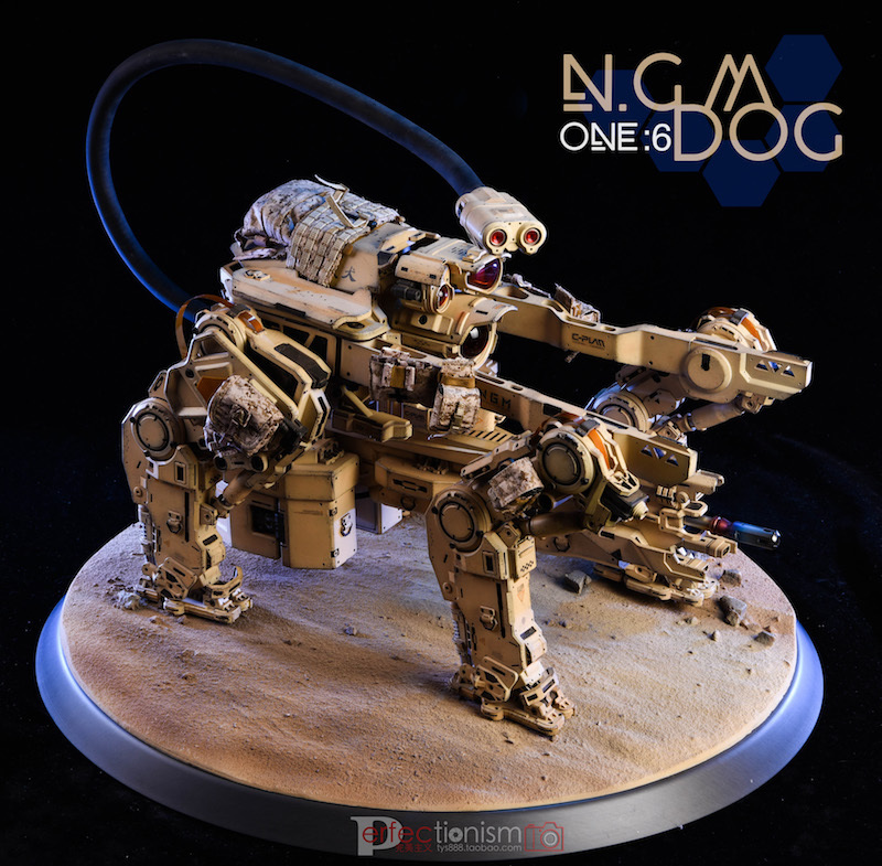 NEW PRODUCT: C-PLAN N.G.M. MILITARY MECHANICAL HOUND 1/6 SCALE POSABLE MODEL FIGURE O1cn0120