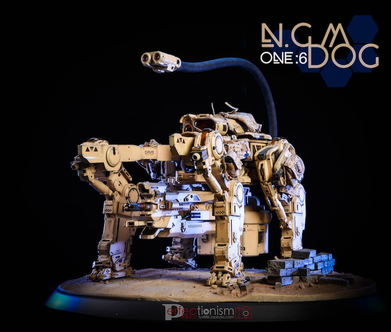 NEW PRODUCT: C-PLAN N.G.M. MILITARY MECHANICAL HOUND 1/6 SCALE POSABLE MODEL FIGURE O1cn0121