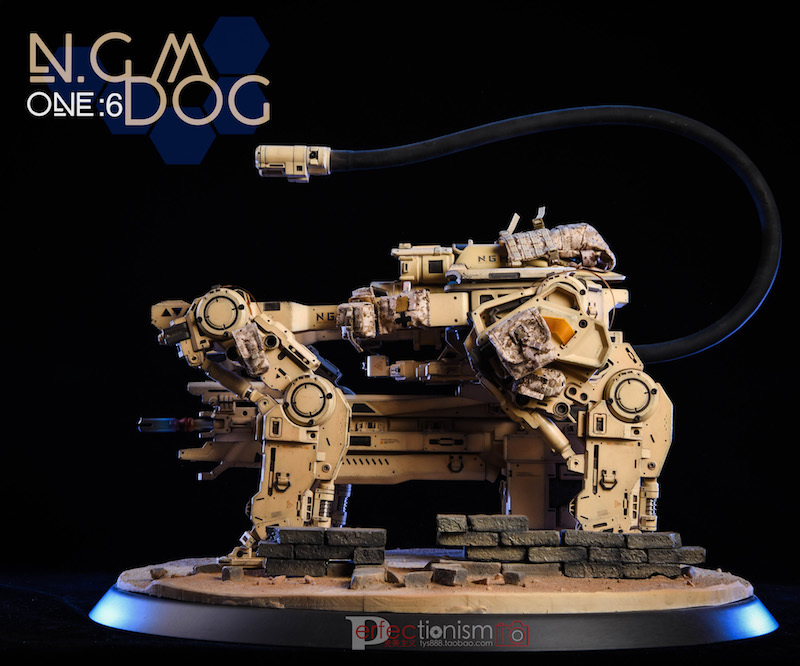NEW PRODUCT: C-PLAN N.G.M. MILITARY MECHANICAL HOUND 1/6 SCALE POSABLE MODEL FIGURE O1cn0122