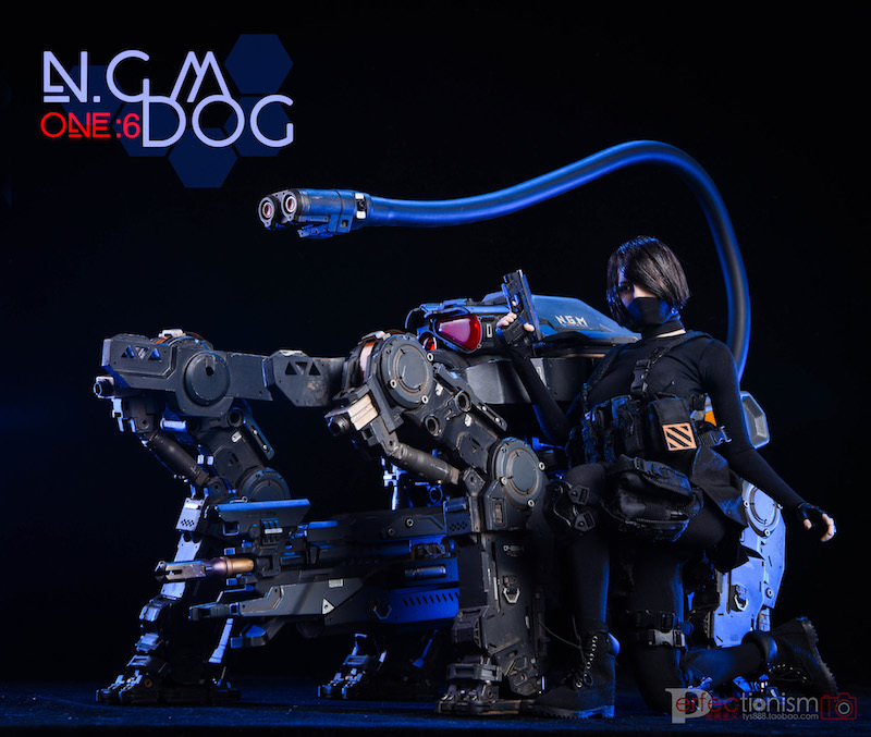 NEW PRODUCT: C-PLAN N.G.M. MILITARY MECHANICAL HOUND 1/6 SCALE POSABLE MODEL FIGURE O1cn0123